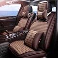 (Delantero y Trasero) Cuero del asiento de coche especial cubre Para BMW e30 e34 e36 e39 e46 e60 e90 f30 f10 x3 x5 x6 del coche accesorios de automóviles styling