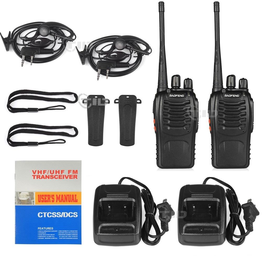 10st baofeng bf-888s Walkie Talkie 16CH UHF 400-470MHz skinkradio - Walkie talkie - Foto 5