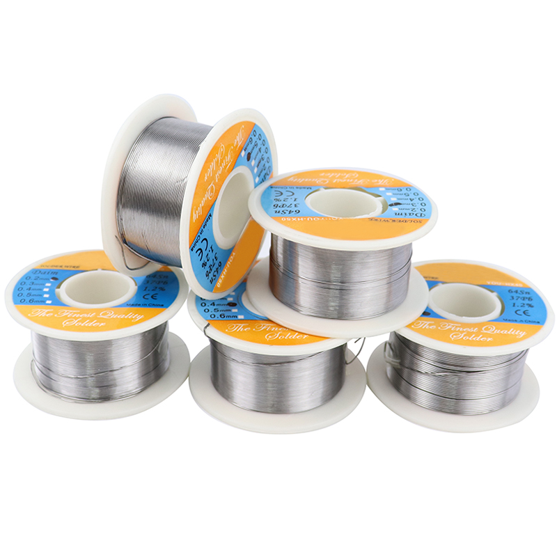 Welding Wire 0.2/0.3/0.4/0.5/0.6mm Diameter Solder Wire Tin Lead Free Solder Soldering Low Melting Point Soldering Supplies