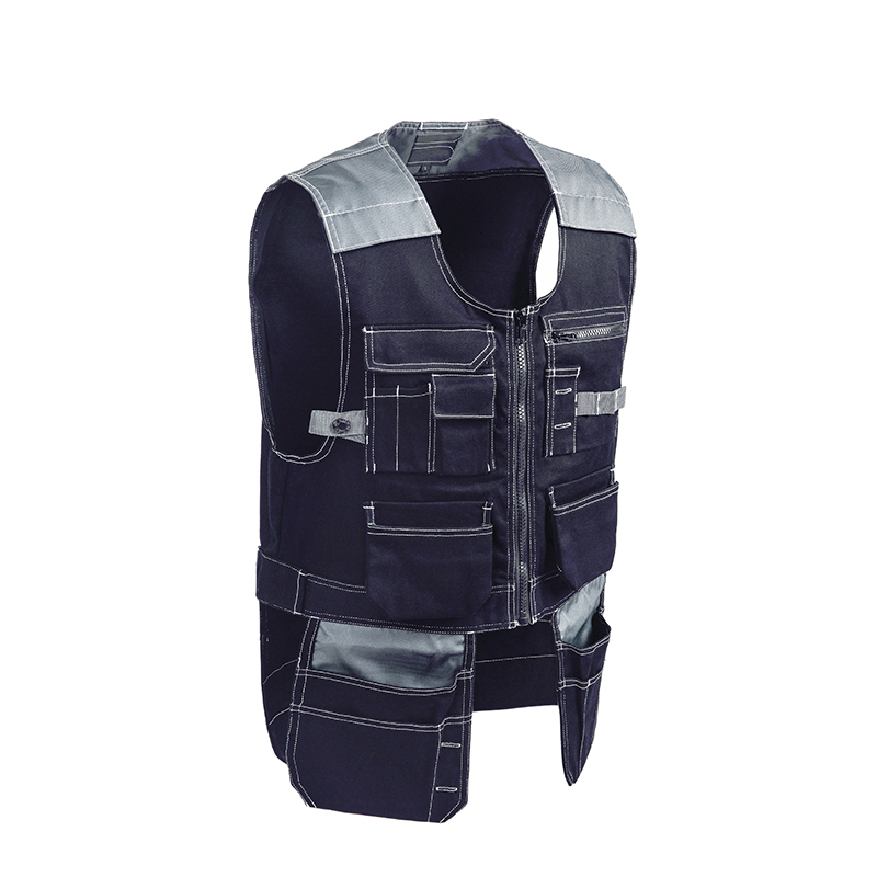 High quality Men Fishing Photography Clothes Female Outdoor Workwear Men Work Vests Multifunction Tool Multi Pockets