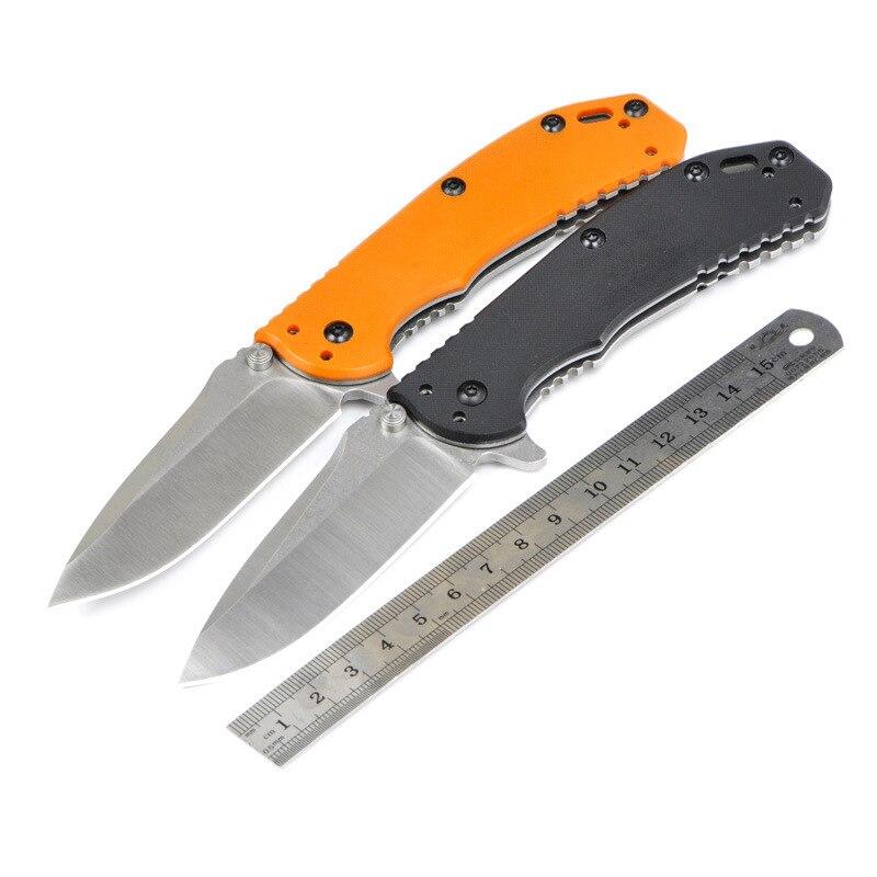 ZT 0566 cuchillo plegable Cuchillos D2 hoja G10 manejar ...