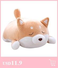 animal macio brinquedo boneca travesseiro decoração presente