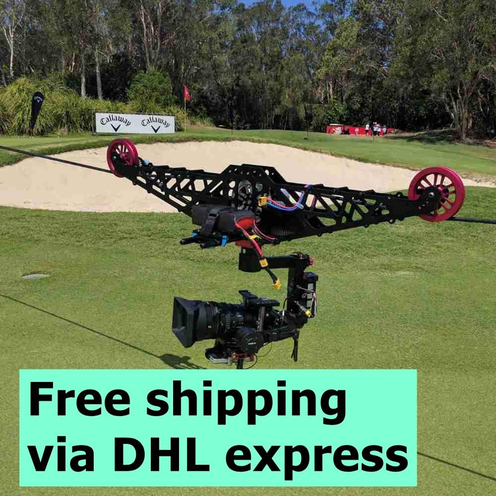 Linecam Cablecam Profissional Sistema De Equipamentos De Gravacao De Video Cablecam Olhos De Aguia Frete Gratis