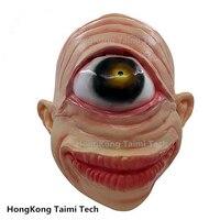 Cyclops Simple Eye Monks Horror Mask Monster Latex Terror scary Janpan masks One eyes Halloween extraterrestrials Aliens ets