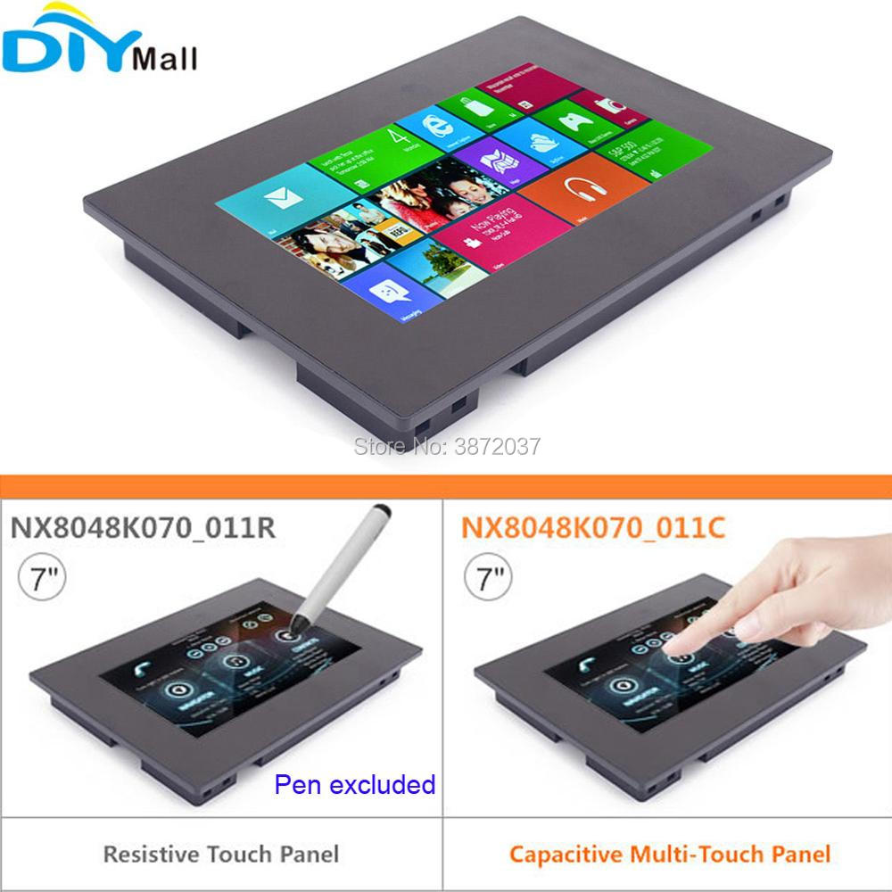 7 0 7inch Nextion Enhanced HMI LCD Display Module Resistive Touch Capacitive Multi Touch Panel with