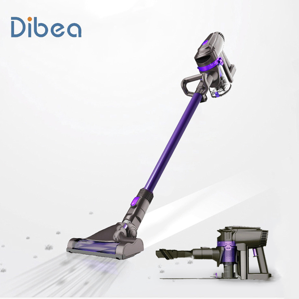 Carpet Cleaning Vacuum Us 129 31 38 Off Dibea F6 2 In 1 Cordless Vacuum Cleaner Upright Stick And Handy Vacuum Carpet Cleaning Machine In Vacuum Cleaners From Home