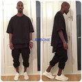 Alta calidad kanye west sudadera oversize camiseta temporada serie clothing swag de hip hop streetwear camiseta