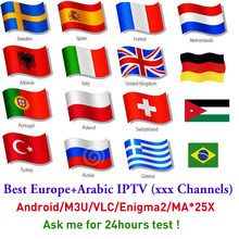 Extra Payment for orders EUSTV IPTV Sweden France Europe Arabic Spain Italy UK DE m3u Android tv box Enigma2 upgrade from IUDTV(China)