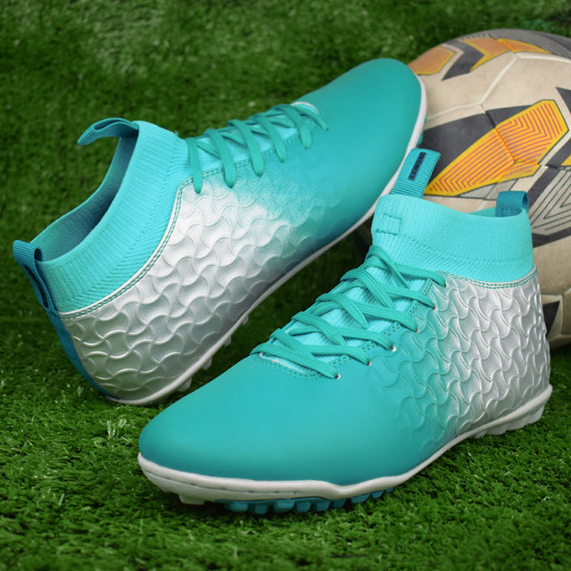 555cb3045 קנו נעלי ספורט   Indoor football shoes with ankle Footballs futsal ...