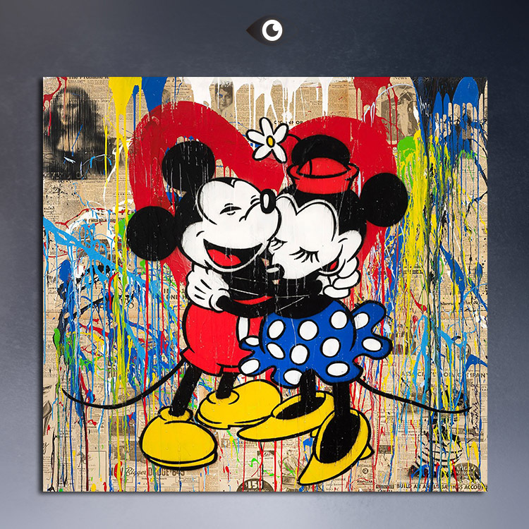 Aliexpress.com : Buy 2015 wall paintings Mickey Mouse ...
