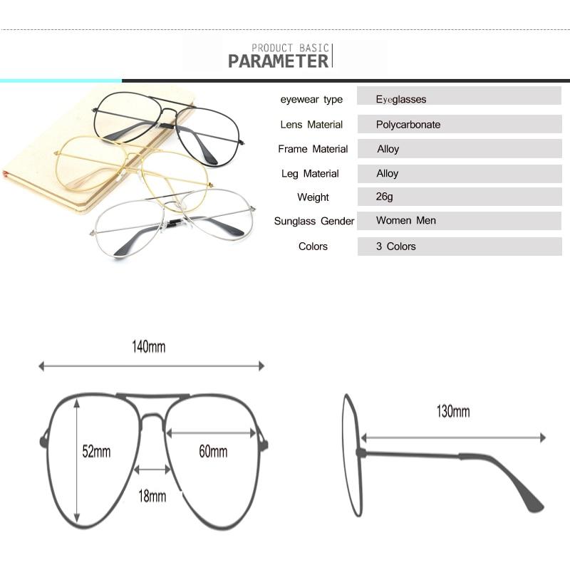 Moda Mujer Gafas de Oro Marcos Hombres Marca Marco de Gafas de - Accesorios para la ropa - foto 6