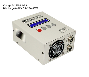 Lithium/lead acid battery Capacity Tester Charge 5A Dischage 20A Electronic load EBC-A20 Y