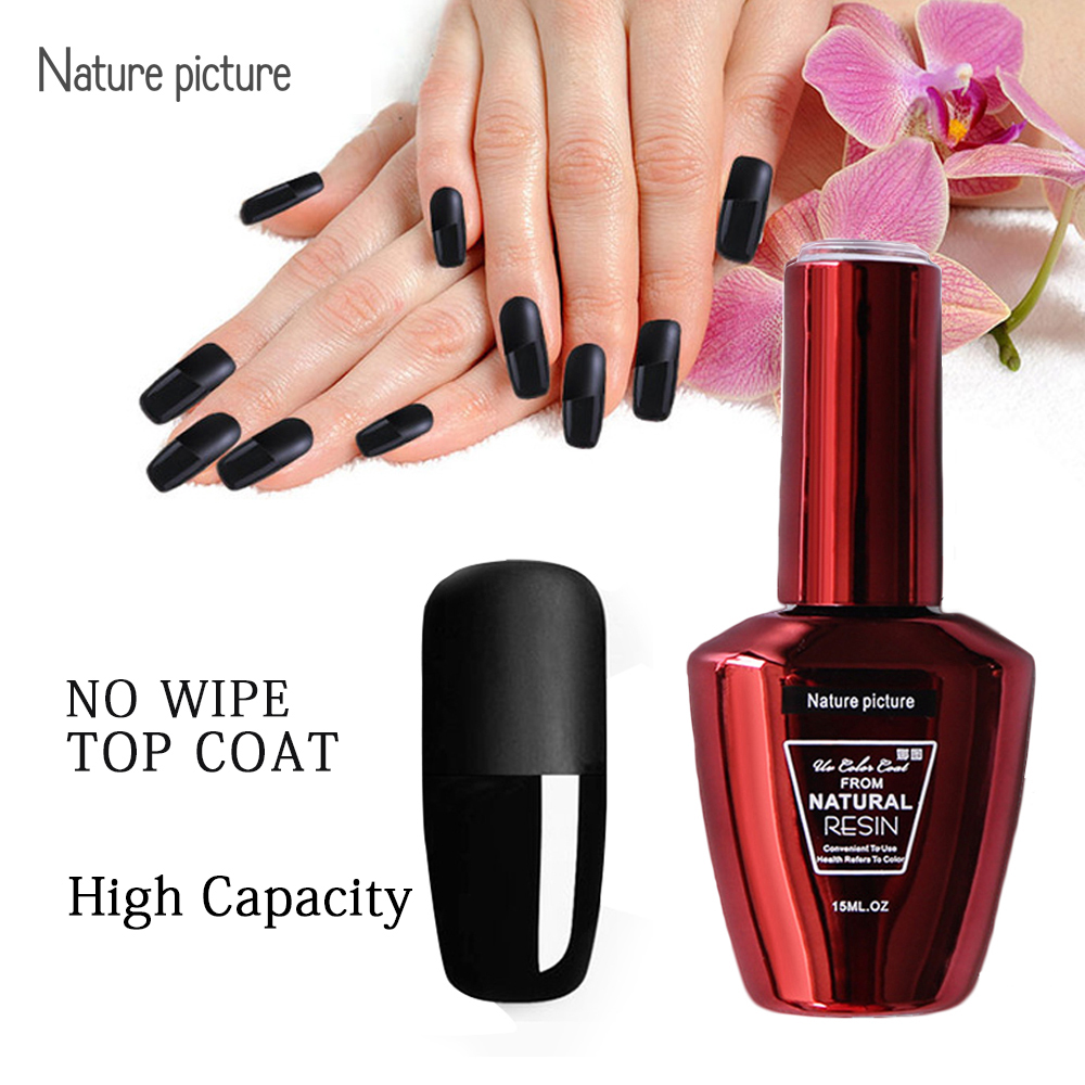 15ml Gel Nail Polish Base Coat Amp No Clean Top Coat Uv Gel