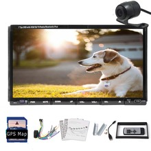 Capacitive 1080P USB APP Navigation font b GPS b font Stereo In Dash Android 5 1