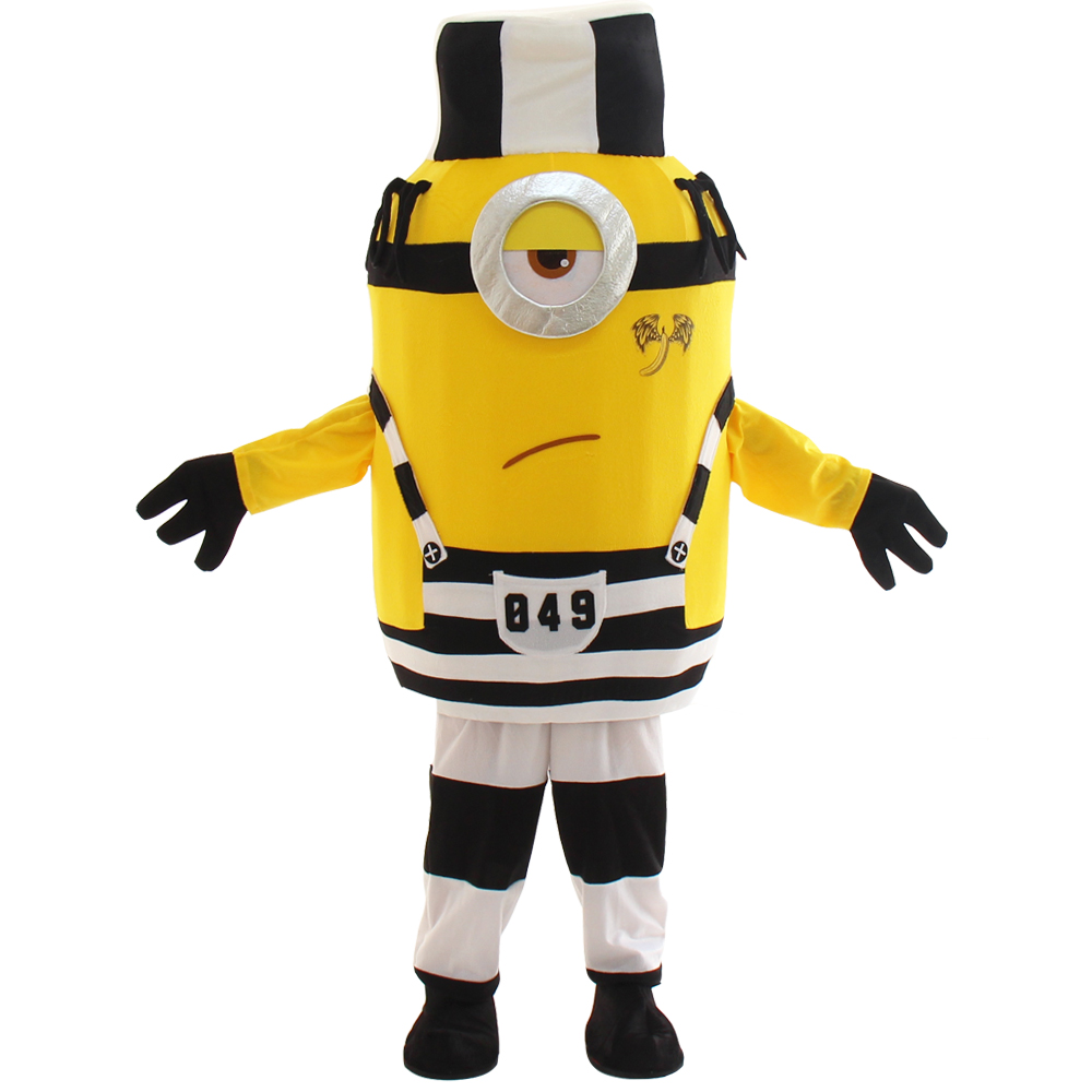 Despicable  Minion Mascot Costume Birthday Party Dress Adult Size Free Shipping