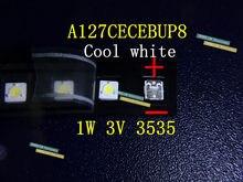 1 w 3 v 3535 3537 Cool white LED Backlight LCD Backlight para TV TV Aplicação A127CECEBUP8