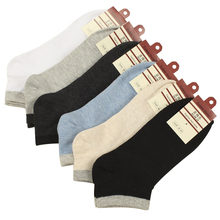 EUR39-44 men high quality business short socks for cotton ankle socks male spring summer fashion boat socks 6pairs/lot