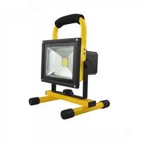 Outdoor LED Rechargeable Projector Emergency Portable Light 50W Aluminum Light Bracket Illumination Angle Adjustable work lamp