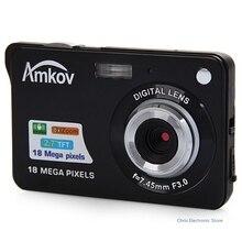 Amkov CDC3 2.7 дюймов TFT HD Экран 18.0MP CMOS 3.0MP Anti-Shake цифрового видео Камера с 8X цифровой зум