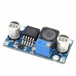 Image 3 - 100 teile/los TENSTAR ROBOTER XL6009 DC DC Booster modul netzteil modul ausgang ist einstellbar Super LM2577 schritt up modul