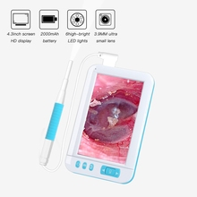 Ear Cleaning Endoscope Camera USB Visual Spoon 3.9mm 5.5mm Lens  Mini For 4.3 Inch HD Display Borescope