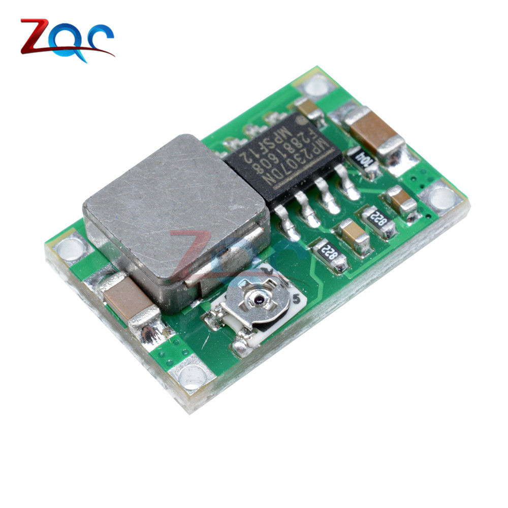 10PCS Mini360 Mini 360 DC-DC Buck Non-isolated Converter Step Down Module For Flight Control Car 4.75V-23V To 1V-17V SG125-SZ+ 10pcs lot mp2307dn lf z mp2307dn mp2307 3a 23v 340khz synchronous rectified step down converter