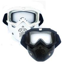 EXSPORT 2 Paquete de cara desmontable táctico con gafas protectoras compatibles con Nerf Rival , Apollo, Zeus, Khaos