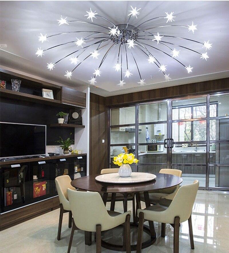 Aliexpress.com : Buy Modern Led Ceiling Lights Ice Flower