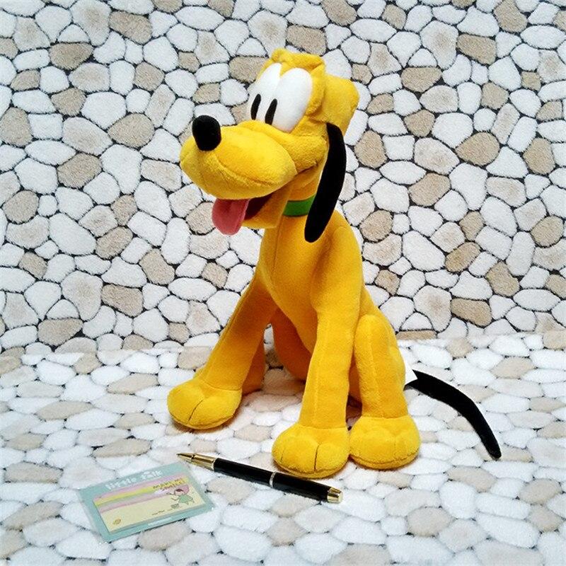 cf1e4e5bc2c Cute Sitting Dog Plush Toys Pluto Puppy Peluche Dolls Soft Animals stuffed  Toys for Baby Kids