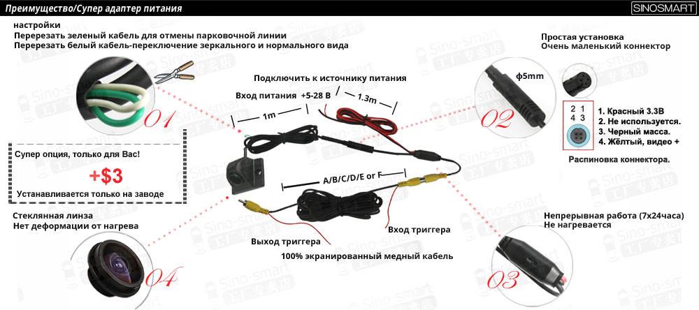 бесплатная доставка проводной HD качестве парковка задним ходом резервного копирования камера заднего вида для китая Лифан 620 2010 / 2011 / 12 сепарабельные камеры
