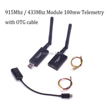 3DR 915 Mhz 915/433 Mhz 433 Module 100 mw Radio Télémétrie Kit avec OTG câble Pour APM Pixhawk pour FPV Quadcopter