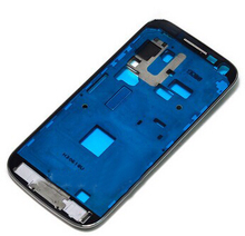 10pcs/lot Original New White Front Housing Frame Bezel for Samsung Galaxy S4 mini iI9195 i9190 Plate Middle Frame Faceplate
