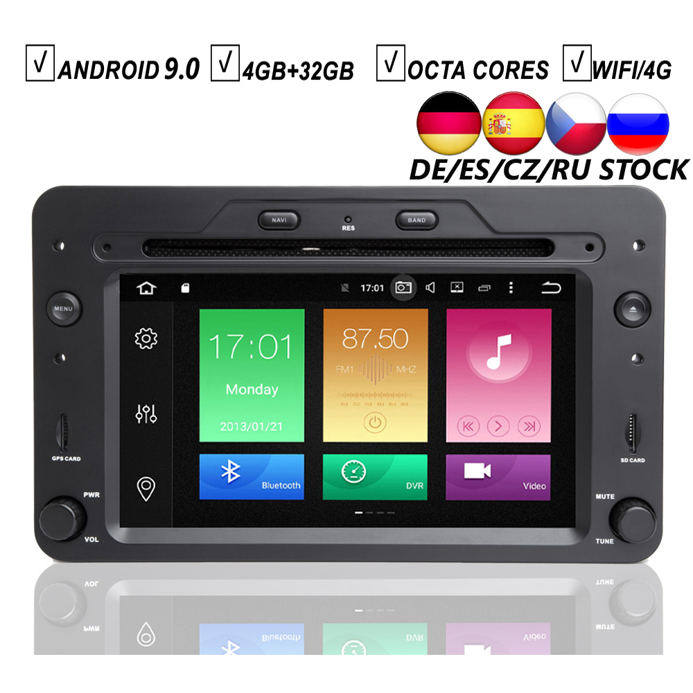 CAR ANDROID 9.0 DVD GPS PLAYER FOR ALFA ROMEO 159