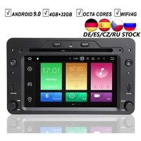 CAR ANDROID 9.0 DVD GPS PLAYER FOR ALFA ROMEO 159 SPORTWAGON SPIDER BRERA Navigation Auto Radio Stereo WIFI 4GB+32GB Octa Core