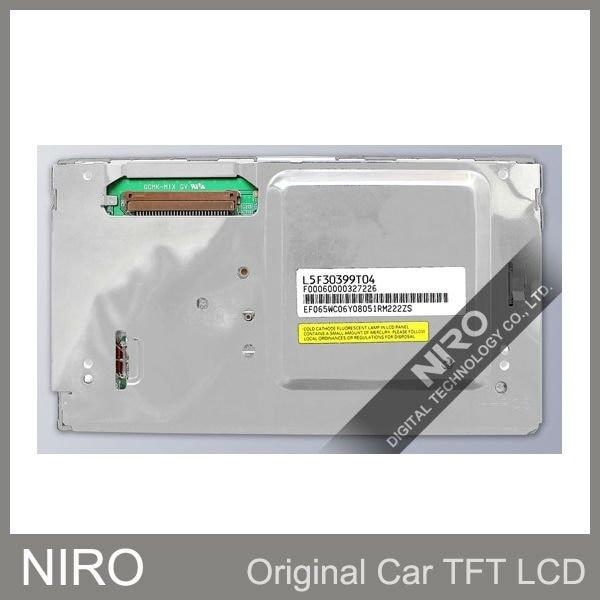 Дешевая цена A+ автомобильный навигационный TFT ЖК-Навигационный дисплей Sanyo L5F30399T04 для замены автомобиля