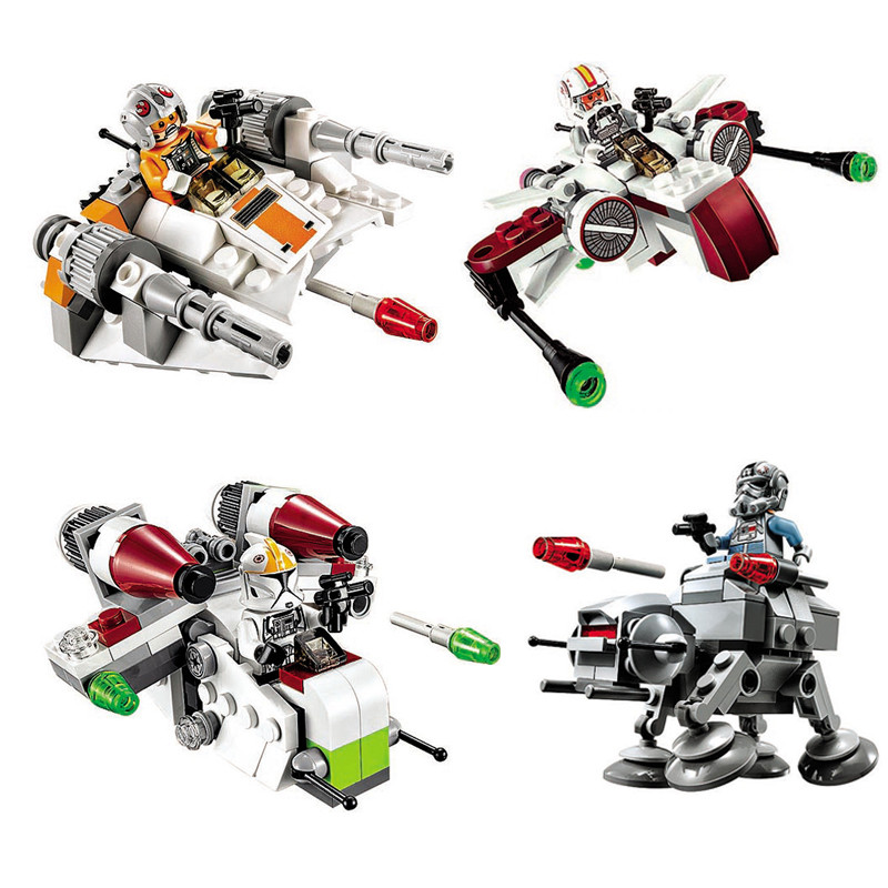 new-1pcs-star-wars-spaceship-microfighters-millennium-at-st-fighters-building-blocks-bricks-compatible-legoinglys-font-b-starwars-b-font-toys