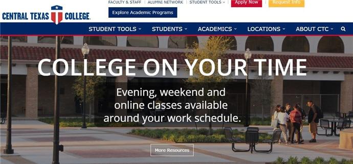 美国德克萨斯中部学院EDU教育邮箱申请