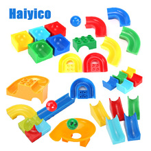 цена на Classic Decorate Fence Ladder Accessories Assembly Big Building Blocks Compatible with Legoe Duplo Baby Toys DIY Set Brick Gift