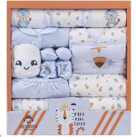 NEW Newborn Baby Clothes Soft Cotton Toddler Baby Boy Girl Clothes Set Infant Clothing New Born Gift Sets BJ0917