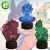 3D Vision Table Lamp Dragon Ball Z Super Saiyan Goku Color Changing LED Night Lights Decorative