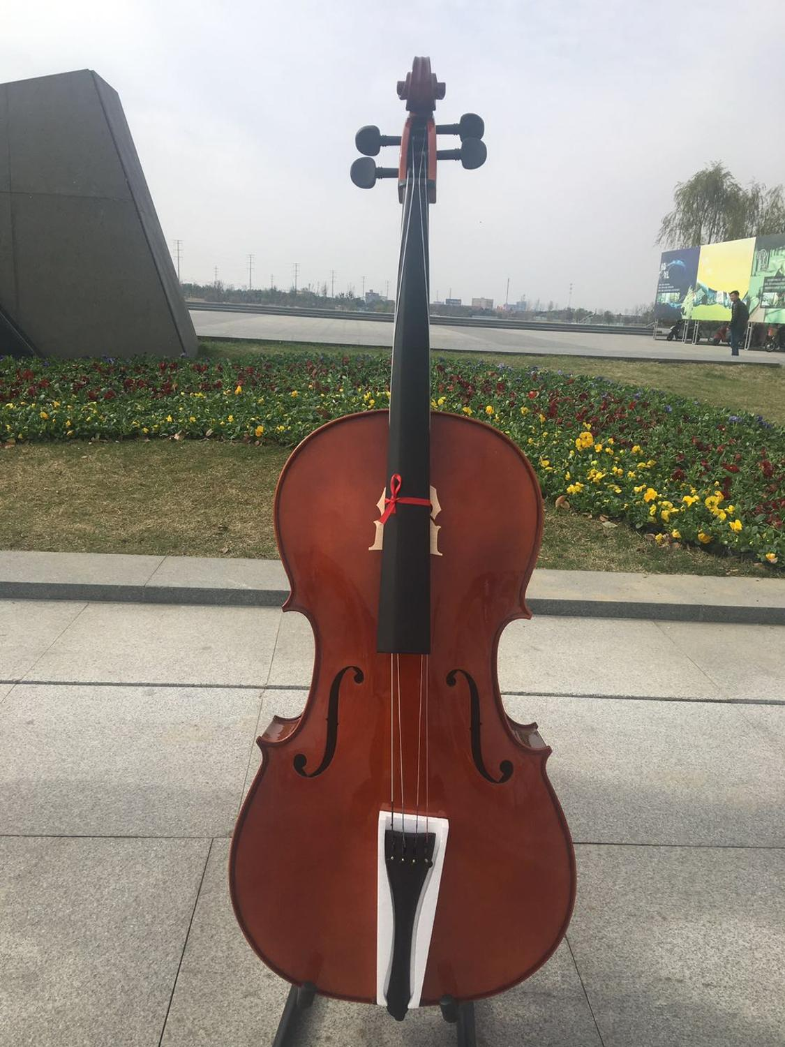 Full Wood Brown Cello 4/4