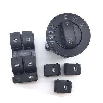 5 шт. контрольный переключатель фар переключатель окна для AUDI A4 S4 B6 B7 Quattro 8E0941531A, 8ED 959 851, 8E0 959 855, 8E0 941 531A