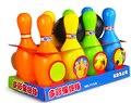 12 unids set bebé educativo toys gran bola de bowling bowling balls toy deportes del niño conjunto niño outdoor toys bolas