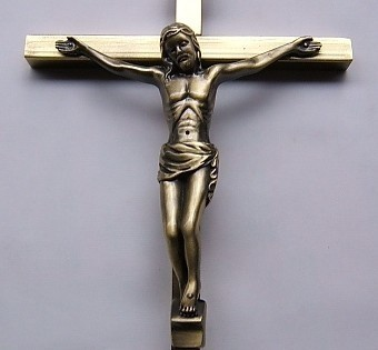 Jesus Kirsite Crucifix Pendant Catholic Holy Christian Emmanuel Christ Jesu Cross Iesus Figures Rood Lamb Of God About 22*11CM