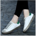 35-44 Fashion Flat loafers Genuine leather Unisex Women Casual Shoes board shoes Lovers shoes