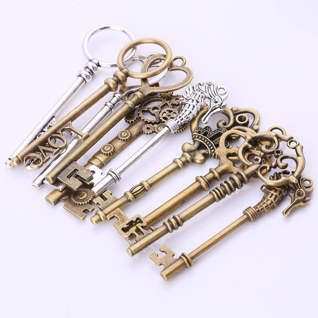 Vintage & Steampunk Key Lot for DIY Jewelry Makers