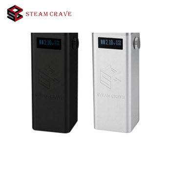 100% Original Steam Crave Titan PWM VV Box MOD 300W Fit Huge Tanks From Diameter 30mm To 41mm No 18650 Battery E-cigarette Mod
