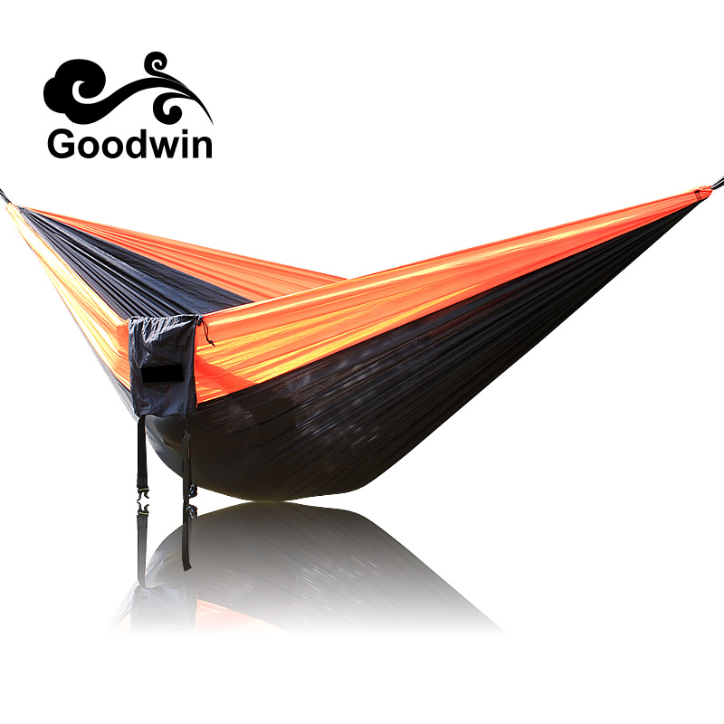 2018 Newest Fashion Handy Hammock Single Person Portable Parachute Fabric Hammock for Indoor Outdoor Camping Using Hamak Hamac thicken canvas single camping hammock outdoors durable breathable 280x80cm hammocks like parachute for traveling bushwalking