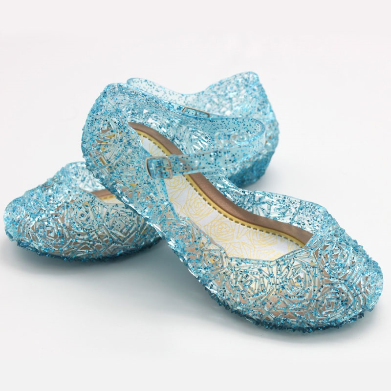 New Kids Shoes Girls Sandals Summer Soft Princess Light Sandals Dancing Shoes Girls Flat Baby Fashion Children's Sandals