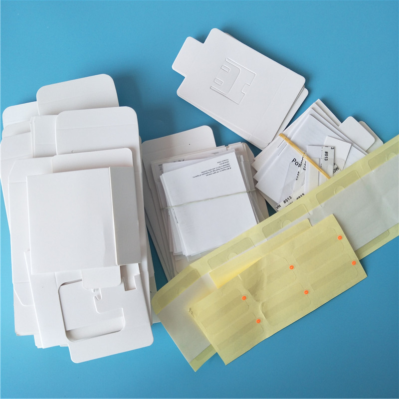 100pcs A1385 A1400 Plug Charger Empty Packing Box 1M 2M MD818ZM A USB Cable Retail Package